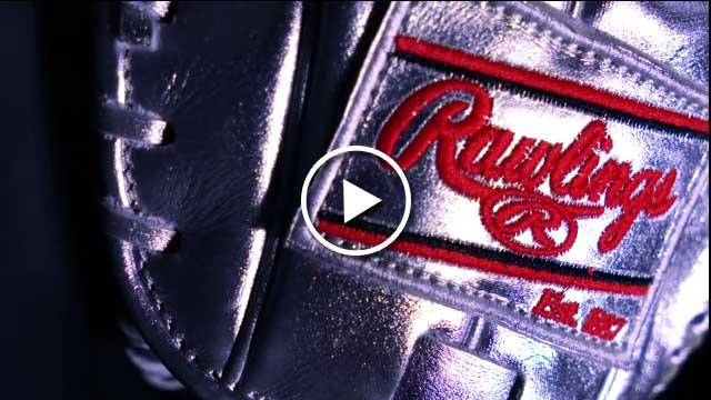 Rawlings Gold Glove Award close-up