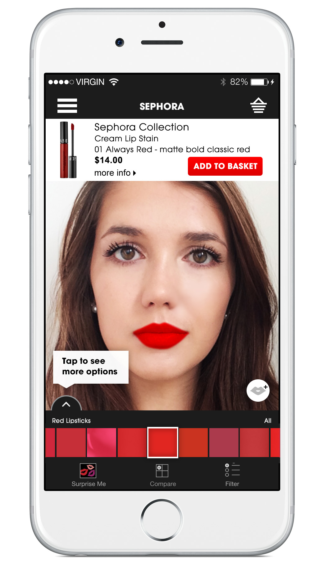 Sephora Launches Virtual Artist For The Sephora to Go App