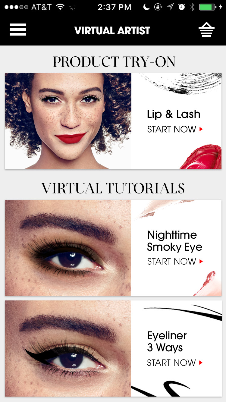 Sephora Virtual Artist Expands With New Features For Virtual Lash Try On And Live Tutorials