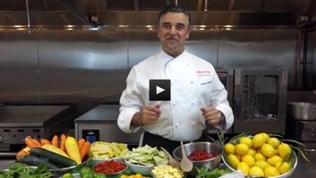 Chef Antonio Iocchi from Zoës Kitchen introduces new ways to taste the Mediterranean
