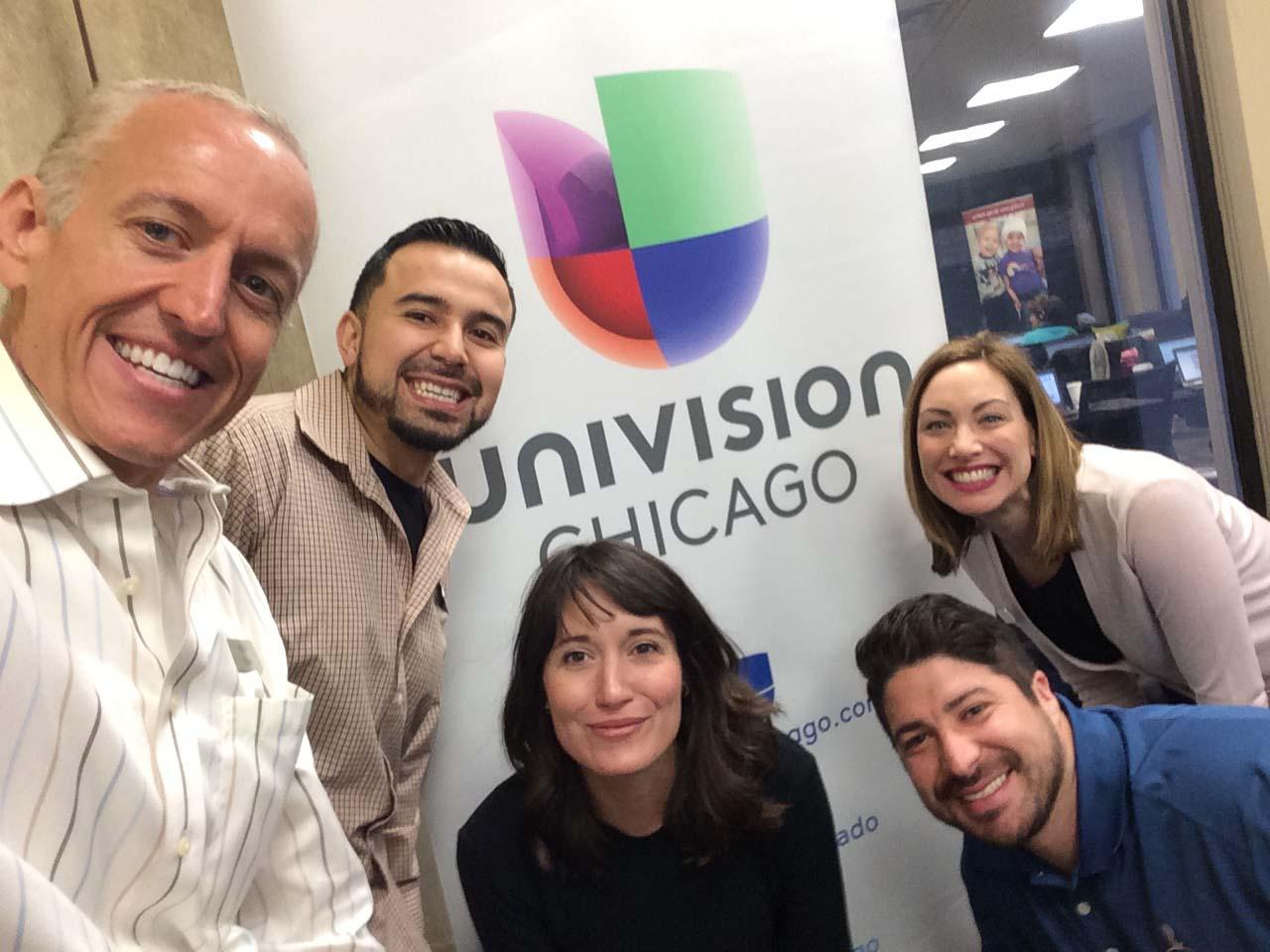 Univision Chicago's Radio event