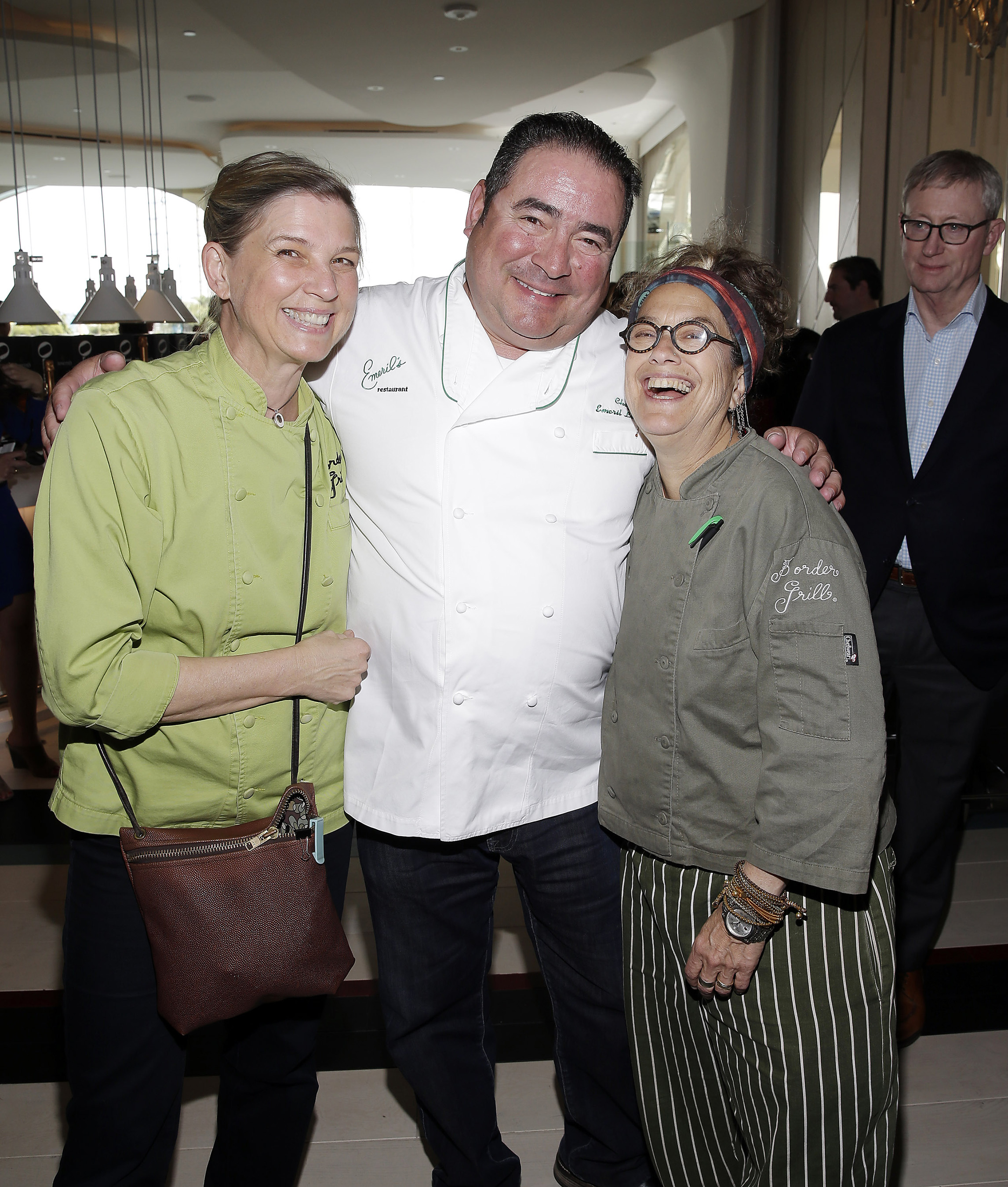 Mary Sue Milliken, Emeril Lagasse and Susan Feniger