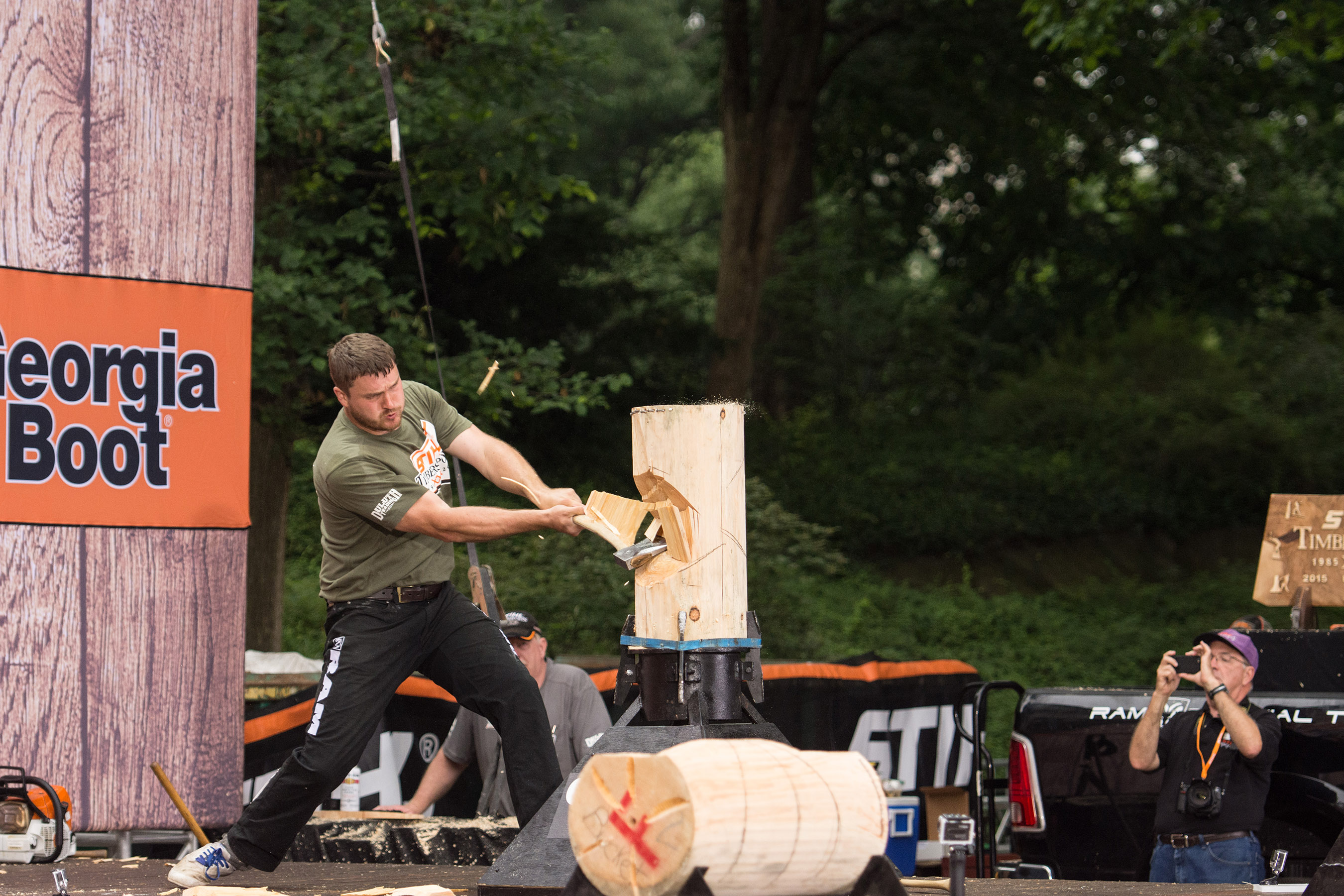 Matt Cogar has won the last three U.S. titles, and is looking to make it four this year in Chicago. If he wins this year, he will be the first U.S. competitor to win four straight titles.