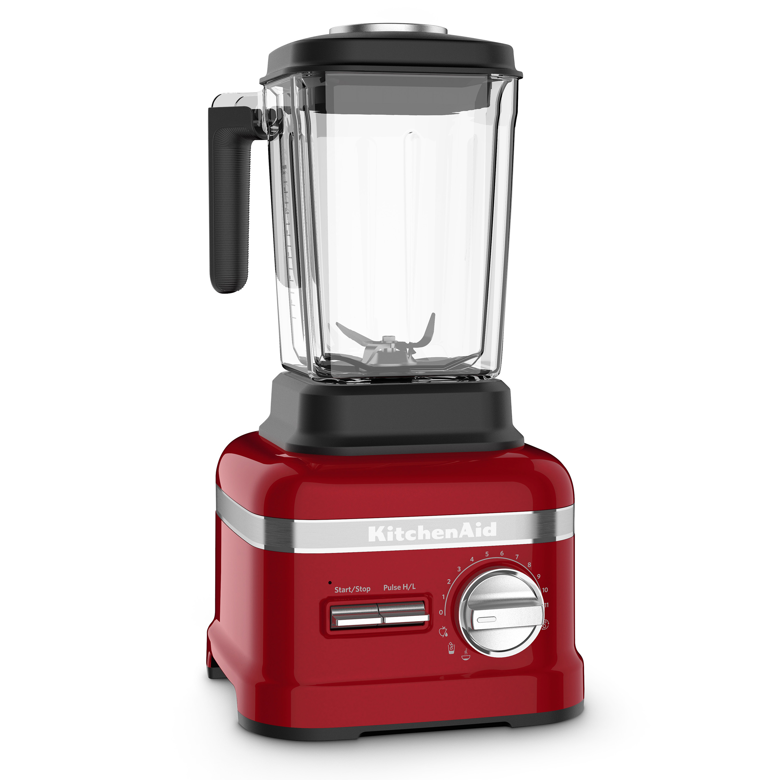 The Pro Line® Series Blender's heavy-duty motor and advanced motor control system easily blends everything from frozen fruits and nuts to fibrous, nutrient-dense vegetables.