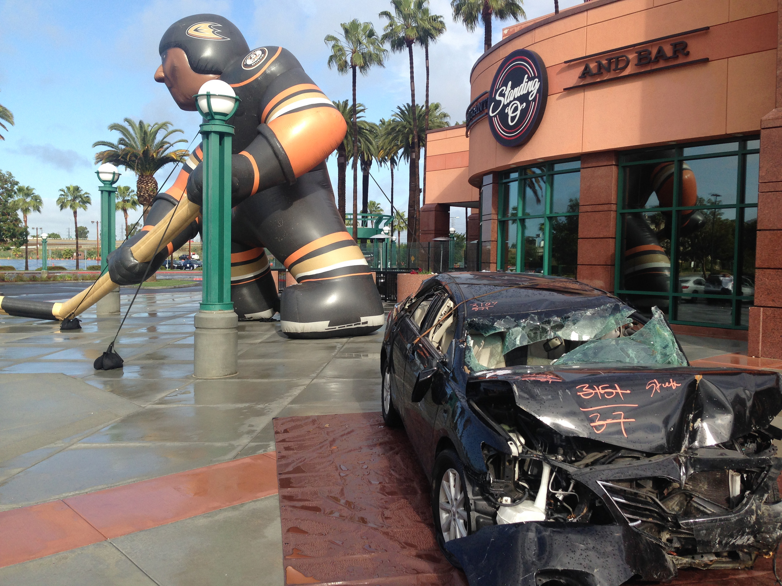 Teens and parents see first-hand the aftermath of a teen drunk driving accident