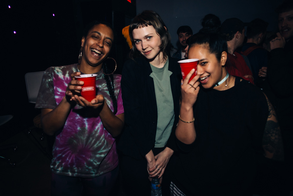 DISCWOMAN co-founders Frankie Hutchinson, Emma Olson-Burgess and Christine Tran celebrate International Women's Day with the premiere of Smirnoff Sound Collective's documentary Tribes: DISCWOMAN