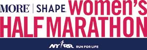 MORE/SHAPE Women's Half-Marathon logo