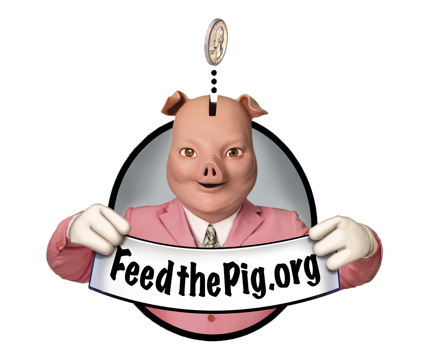 Feed the Pig logo