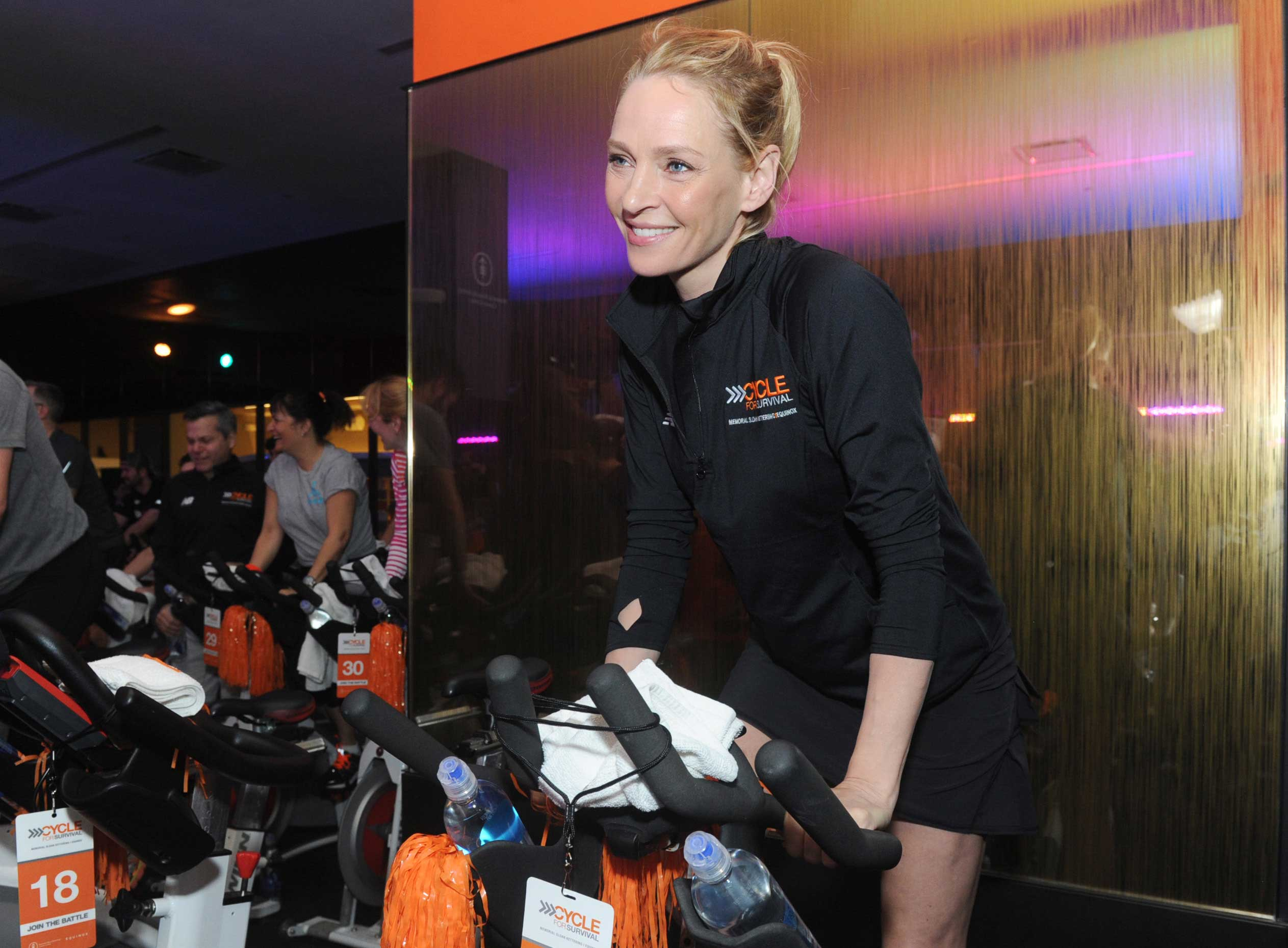 Cycle for Survival Uma Thurman