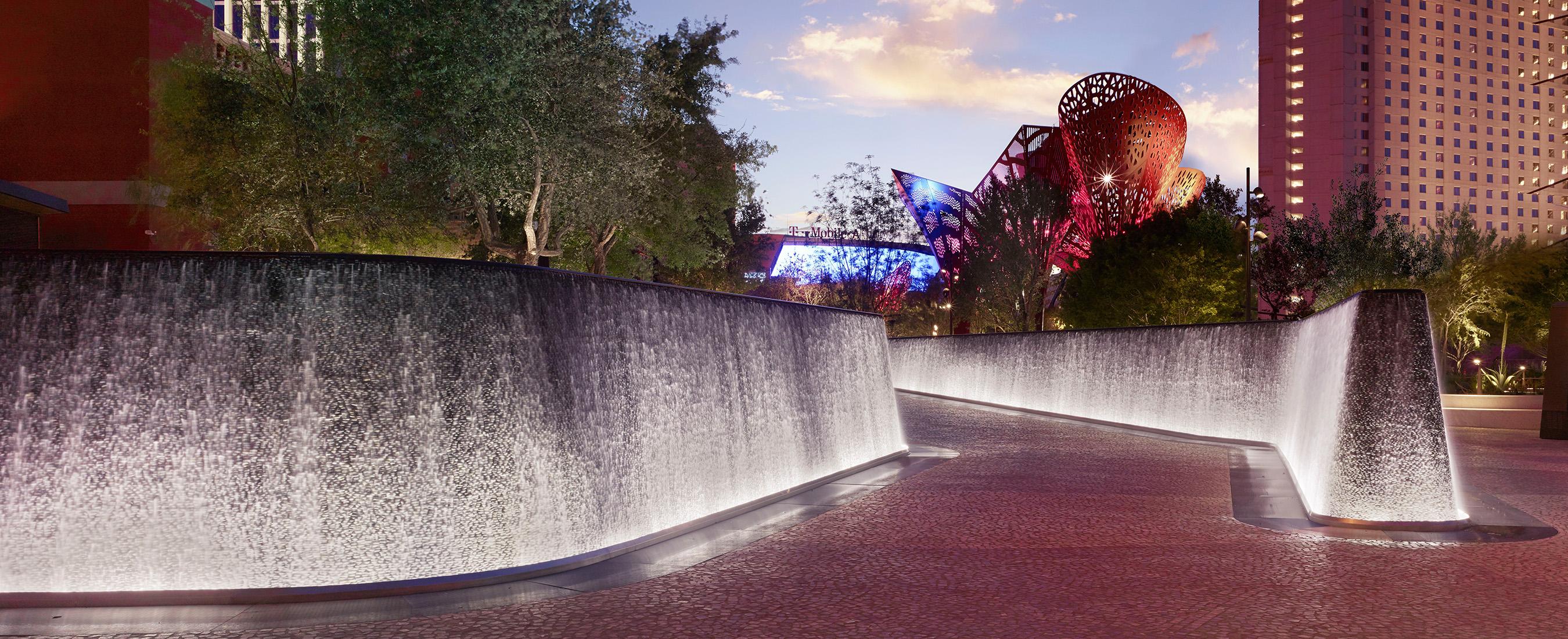 Las Vegas Strip S First Park Debuts Today