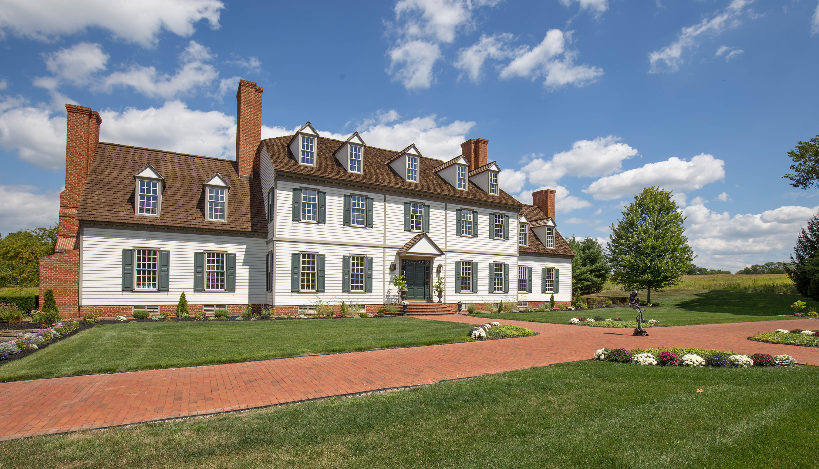 Unprecedented Luxury Auction of Stunning Colonial Mansion Selling with No Reserve on November 5th