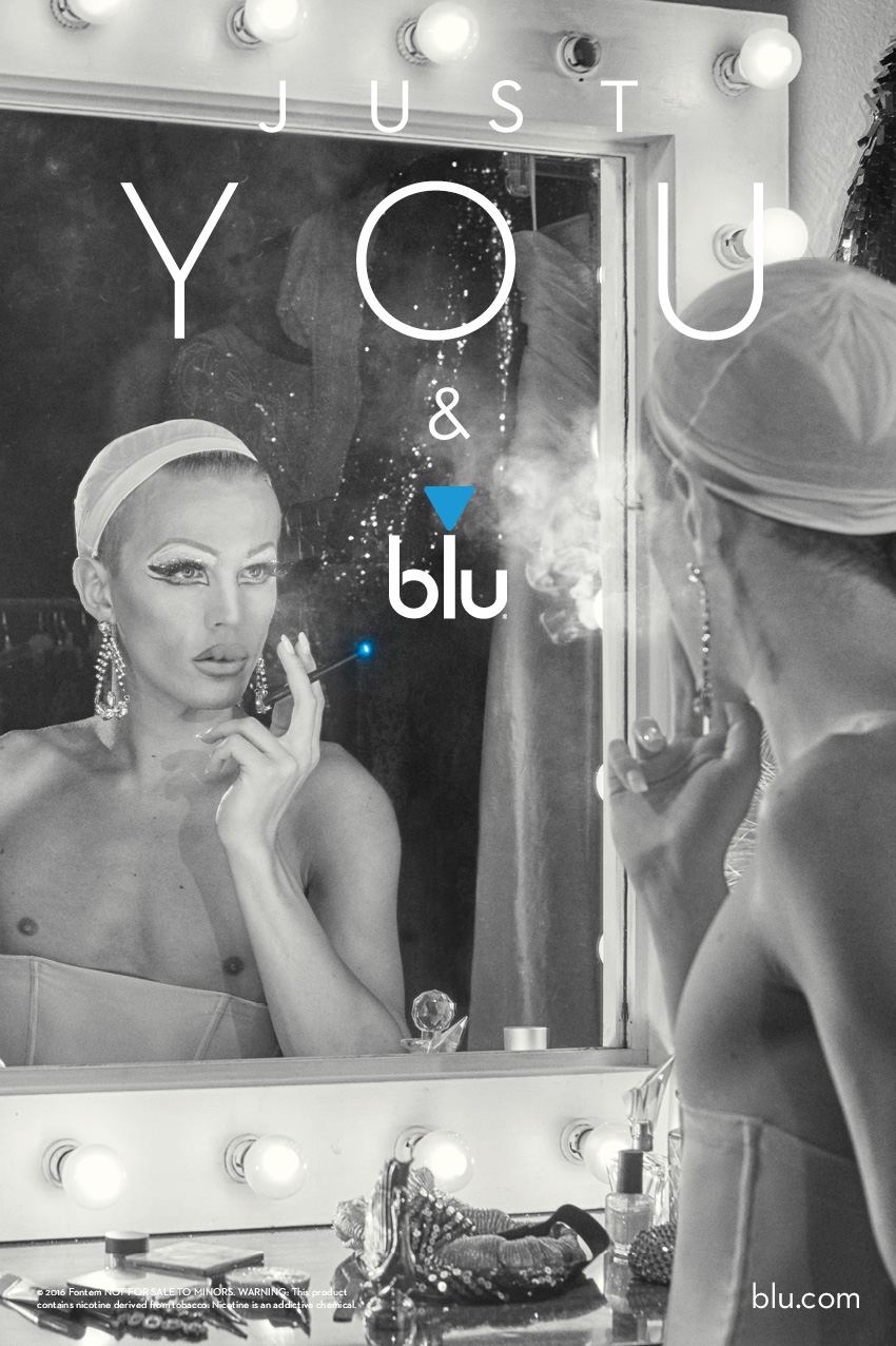 Just You & blu/ Relatively new to the drag scene but making a splash in Cape Town.