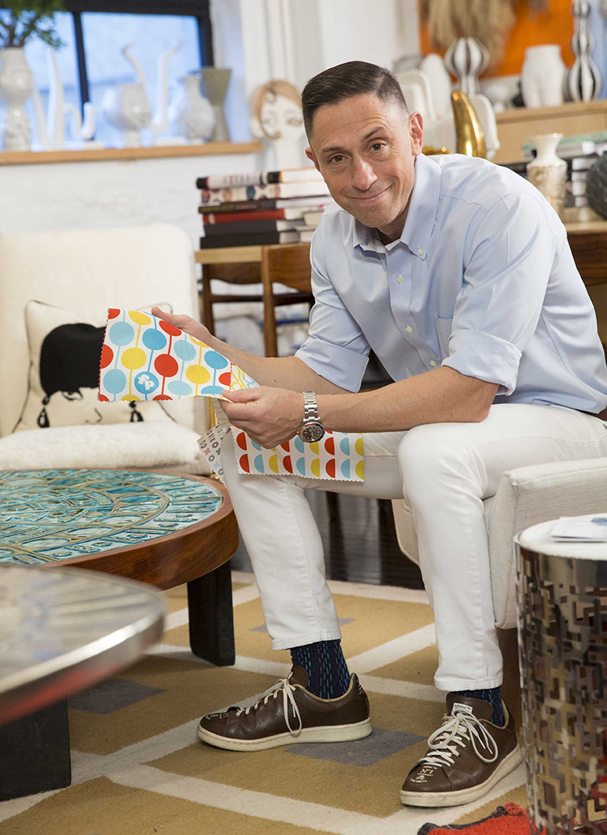 Fisher-Price has appointed renowned potter, designer and author Jonathan Adler as Creative Director, blending his modern design with the brand's expertise in early childhood development