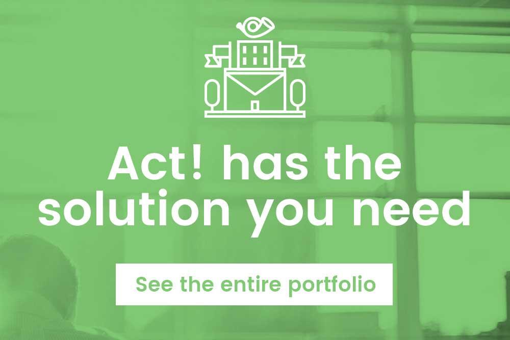 Act! Product Portfolio