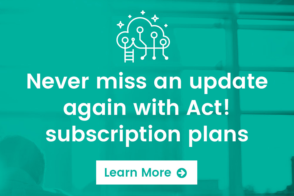 Act! Subscription Plan Pricing