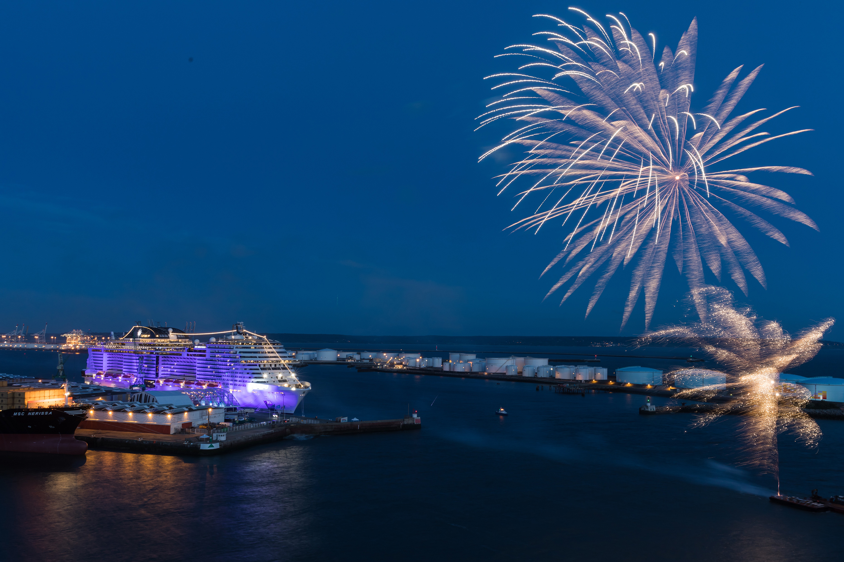 MSC Cruises Christens The Biggest Ship To Be Built By A European Ship Owner