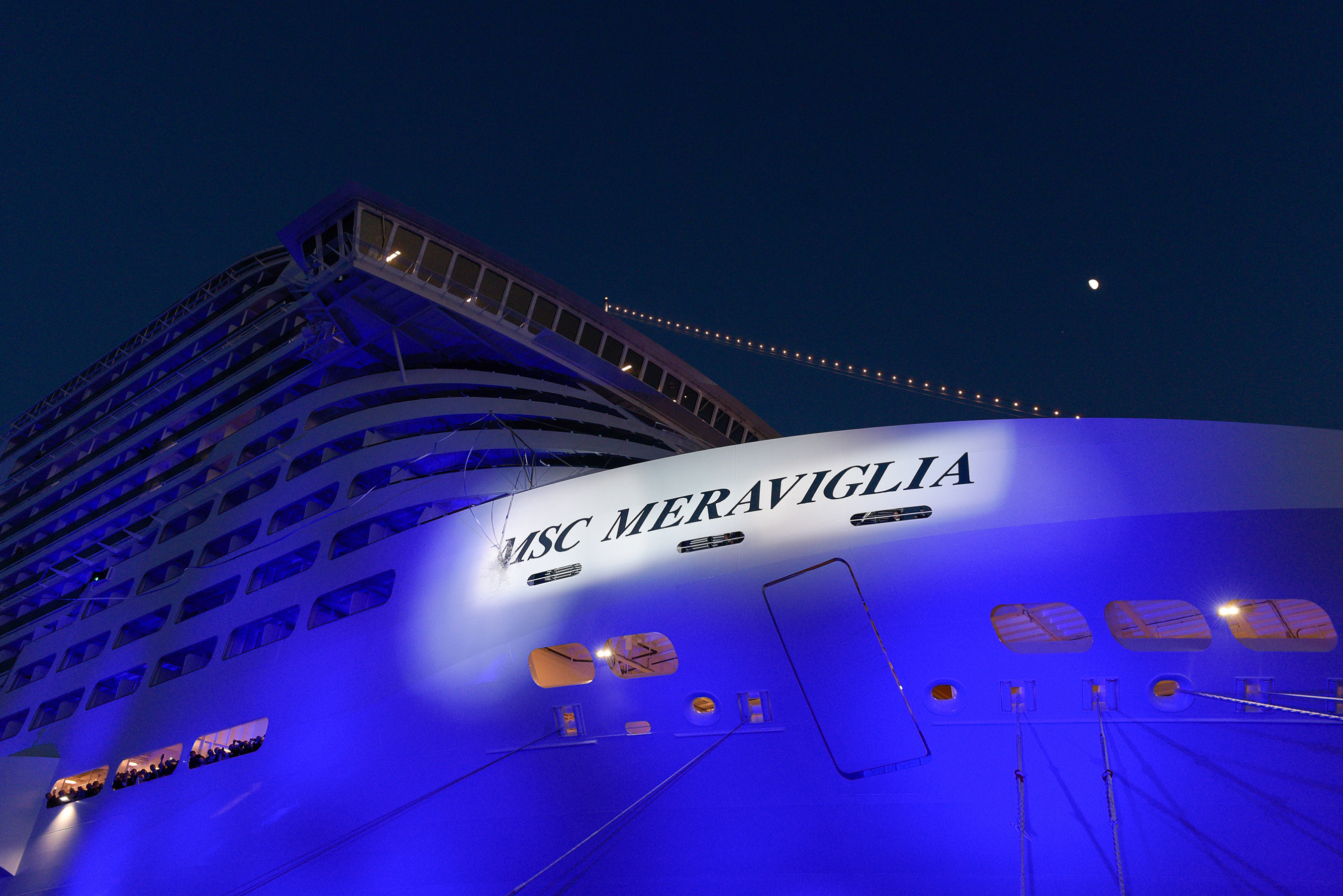 Francois Illas New Tradition: MSC Cruises Christens The Biggest Ship To Be Built By A