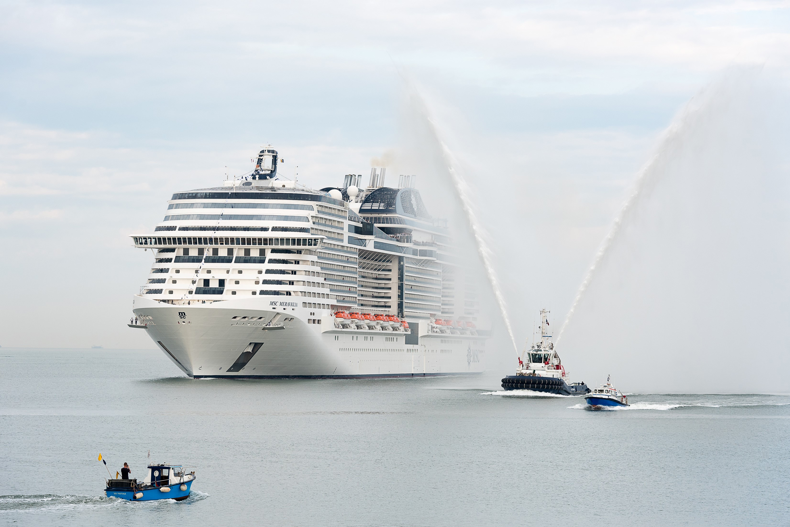 Αποτέλεσμα εικόνας για MSC Cruises Christens the biggest ship to be built by a European ship owner