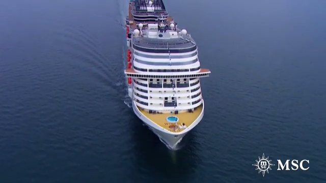 Msc cruises christens the biggest ship to be built by a european
