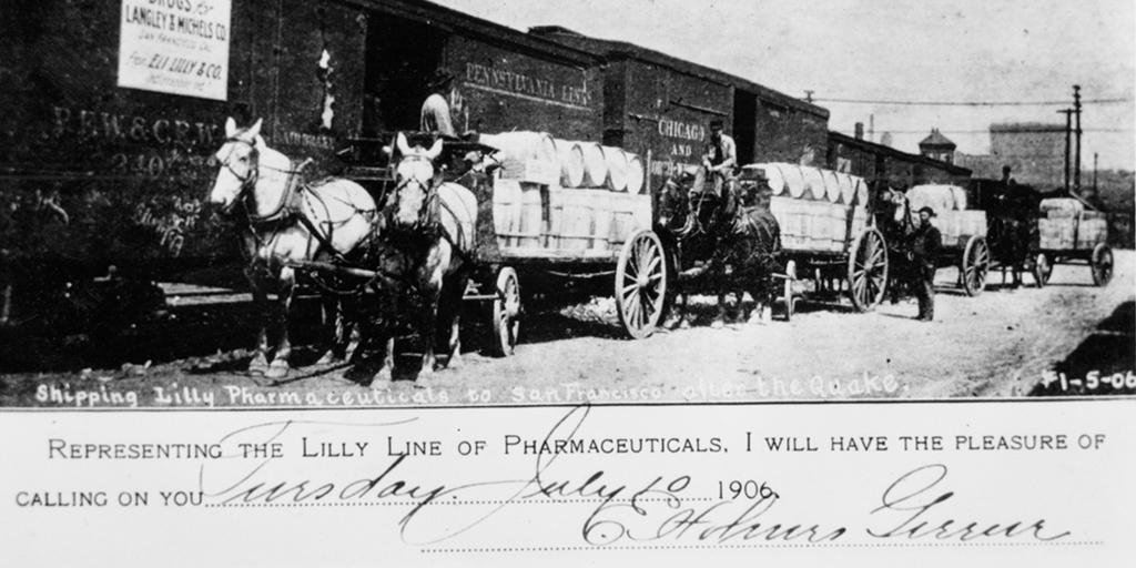 Through wars and natural disasters, Lilly steps in to provide supplies, medical personnel and helping hands.
