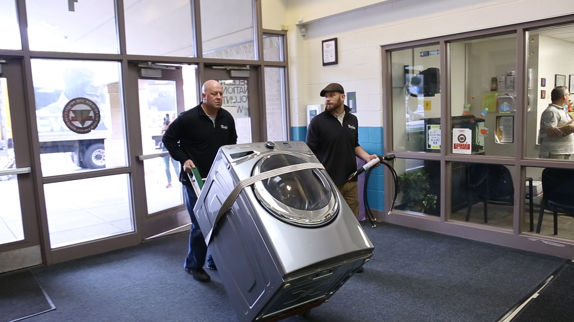 Whirlpool is partnering with schools to provide students with better access to clean clothes