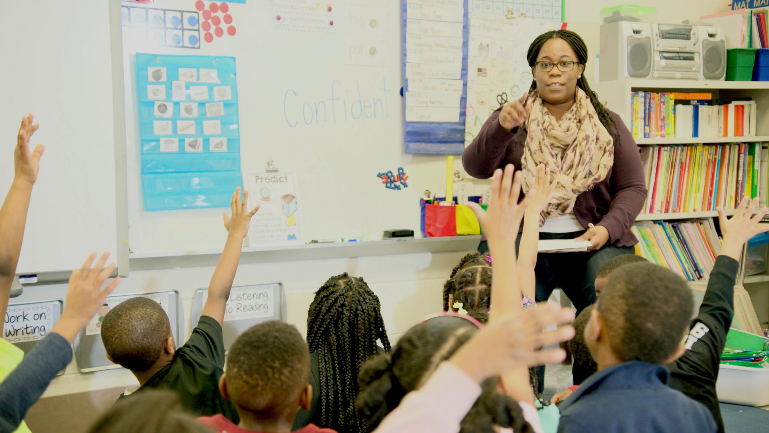 Care Counts™ program teachers surveyed saw that 89% of participants improved classroom participation