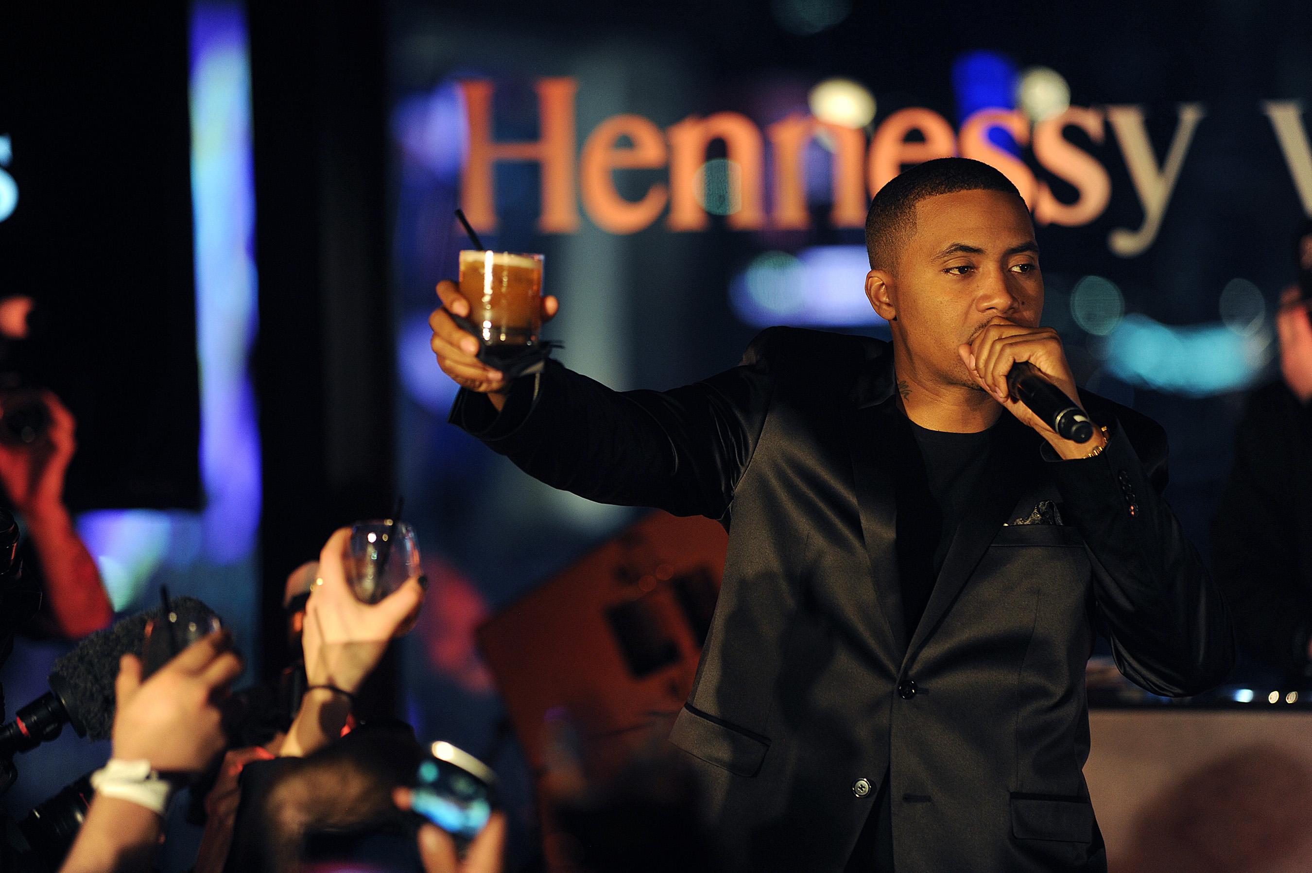 Hennessy V.S Wild Rabbit Icon Nas