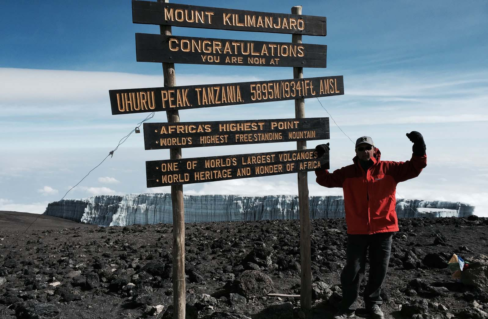 Advanced prostate cancer didn't stop John Loussia from climbing Mt. Kilimanjaro
