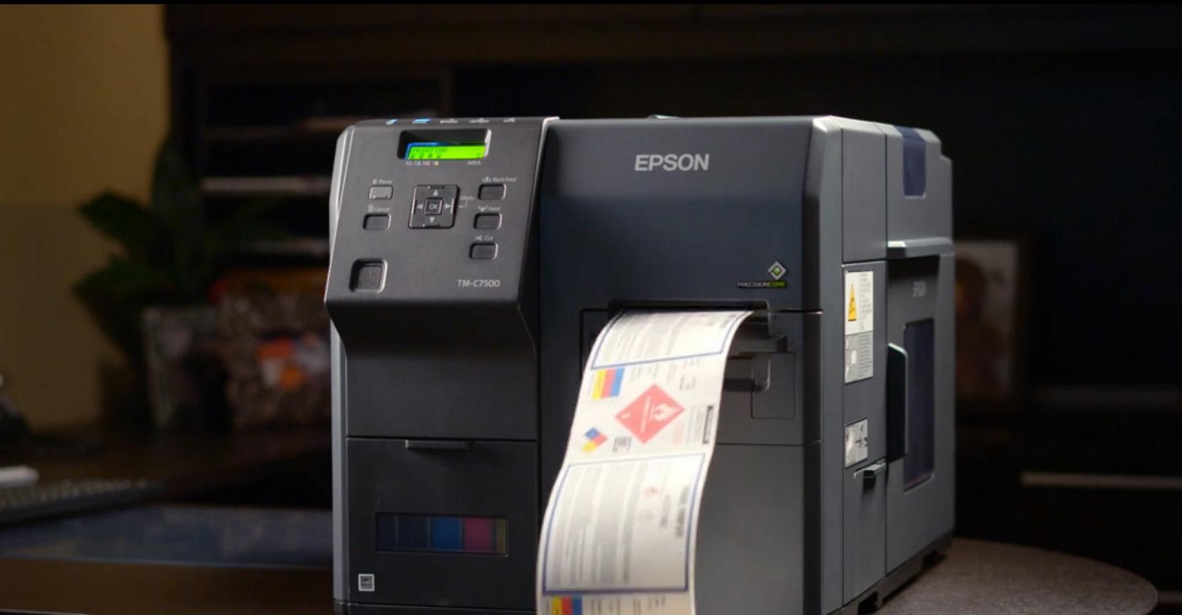 Smark Company ColorWorks C7500 Inkjet Label Printer