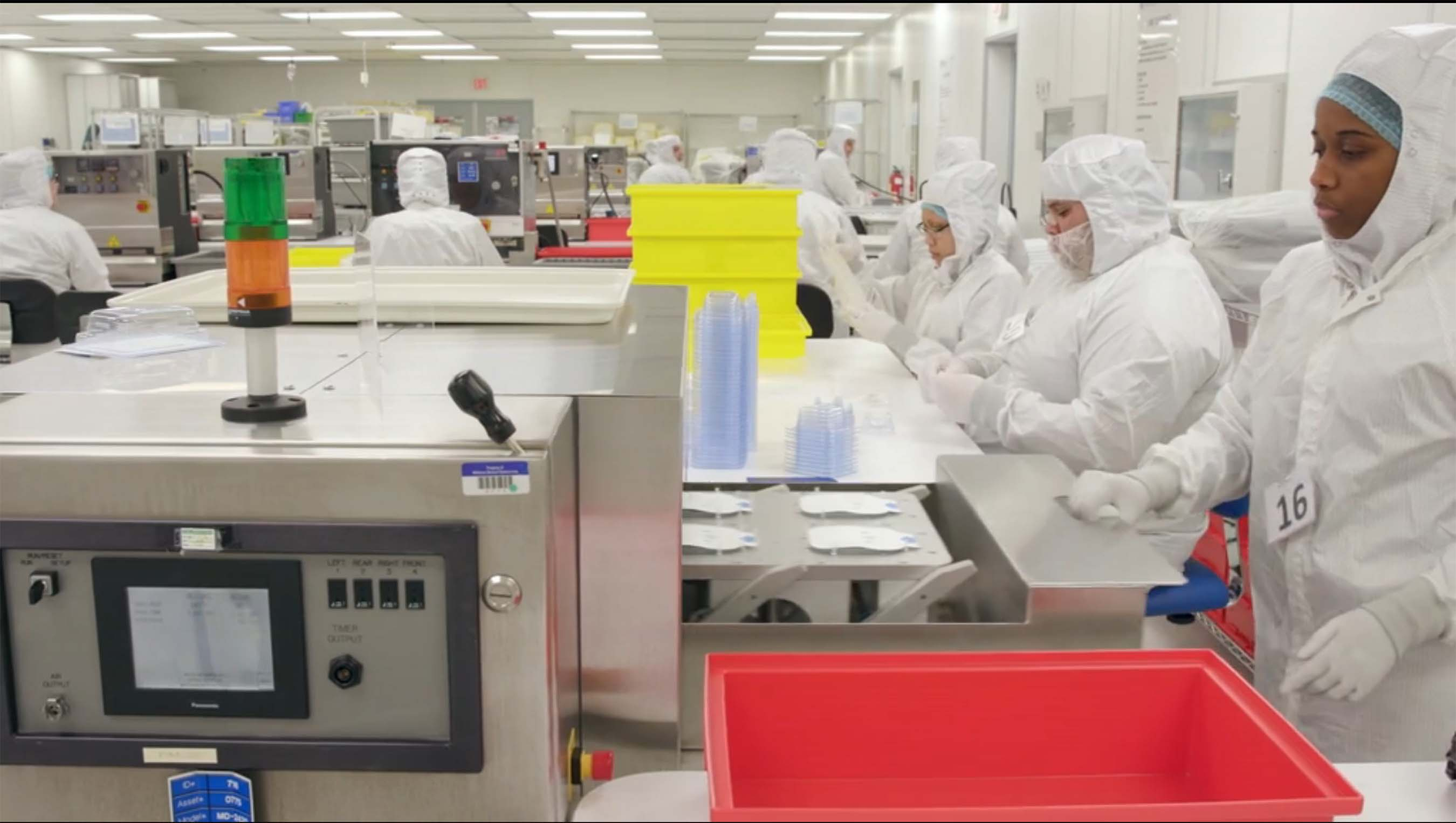 A look inside of Millstone Medical's lab and its employees at work