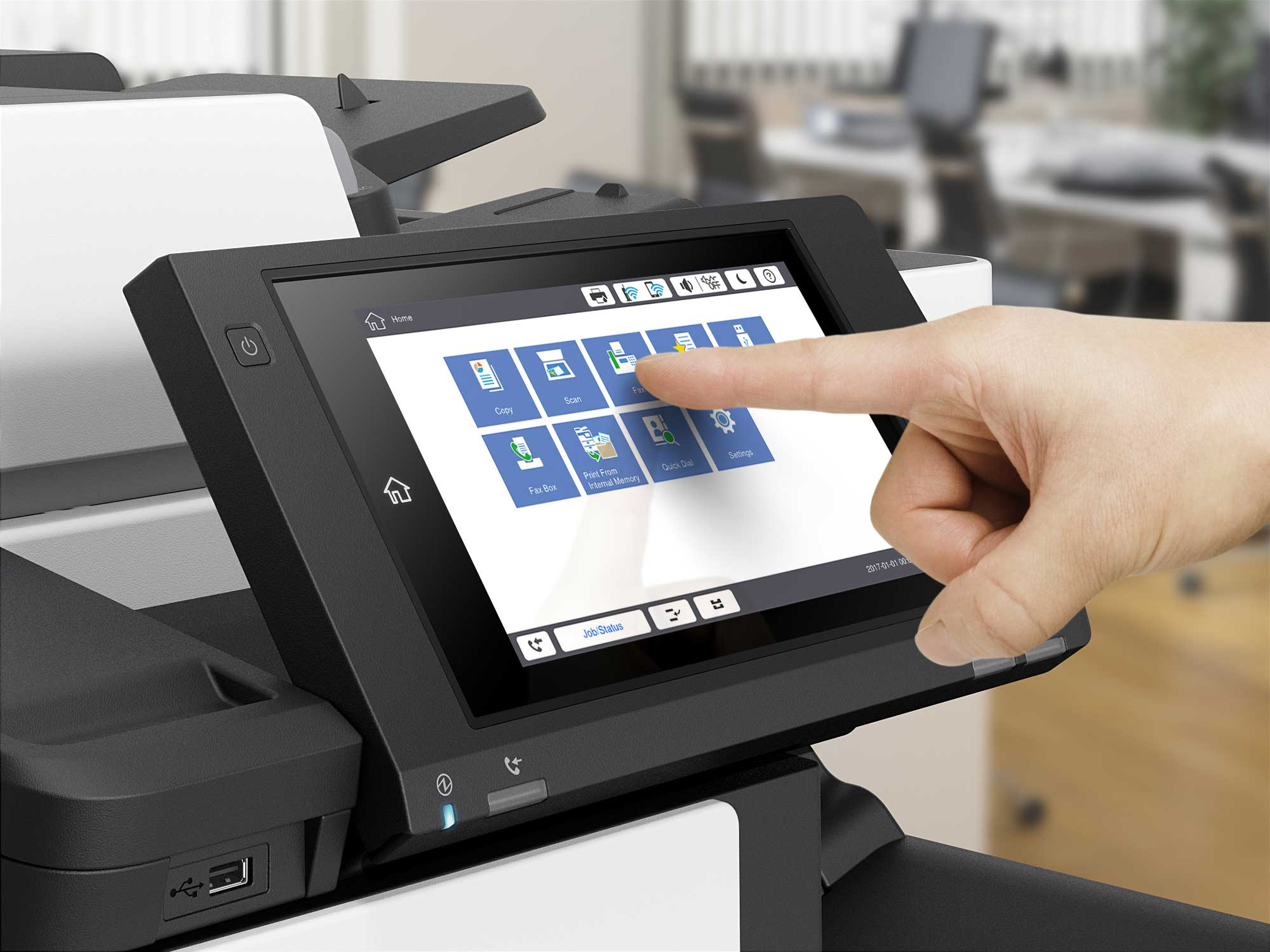 Epson WorkForce Enterprise WF-C20590 User Interface