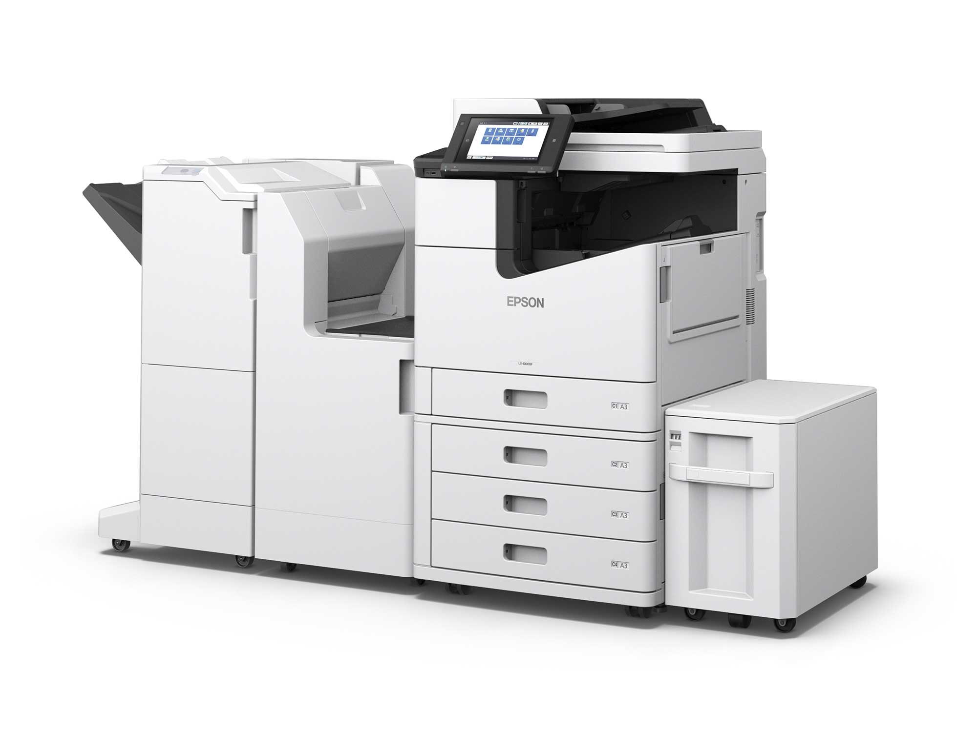 Epson WorkForce Enterprise WF-C20590 with Optional Accessories