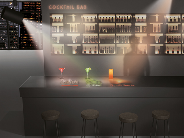 LightScene combines interactivity with an element of reactive content to create a unique, versatile space.