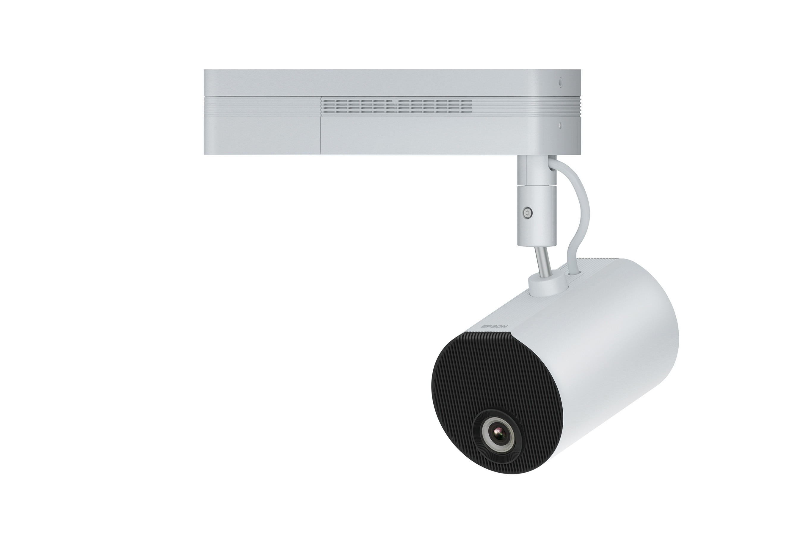 LightScene's sleek, spotlight form factor blends in discreetly to any setting.