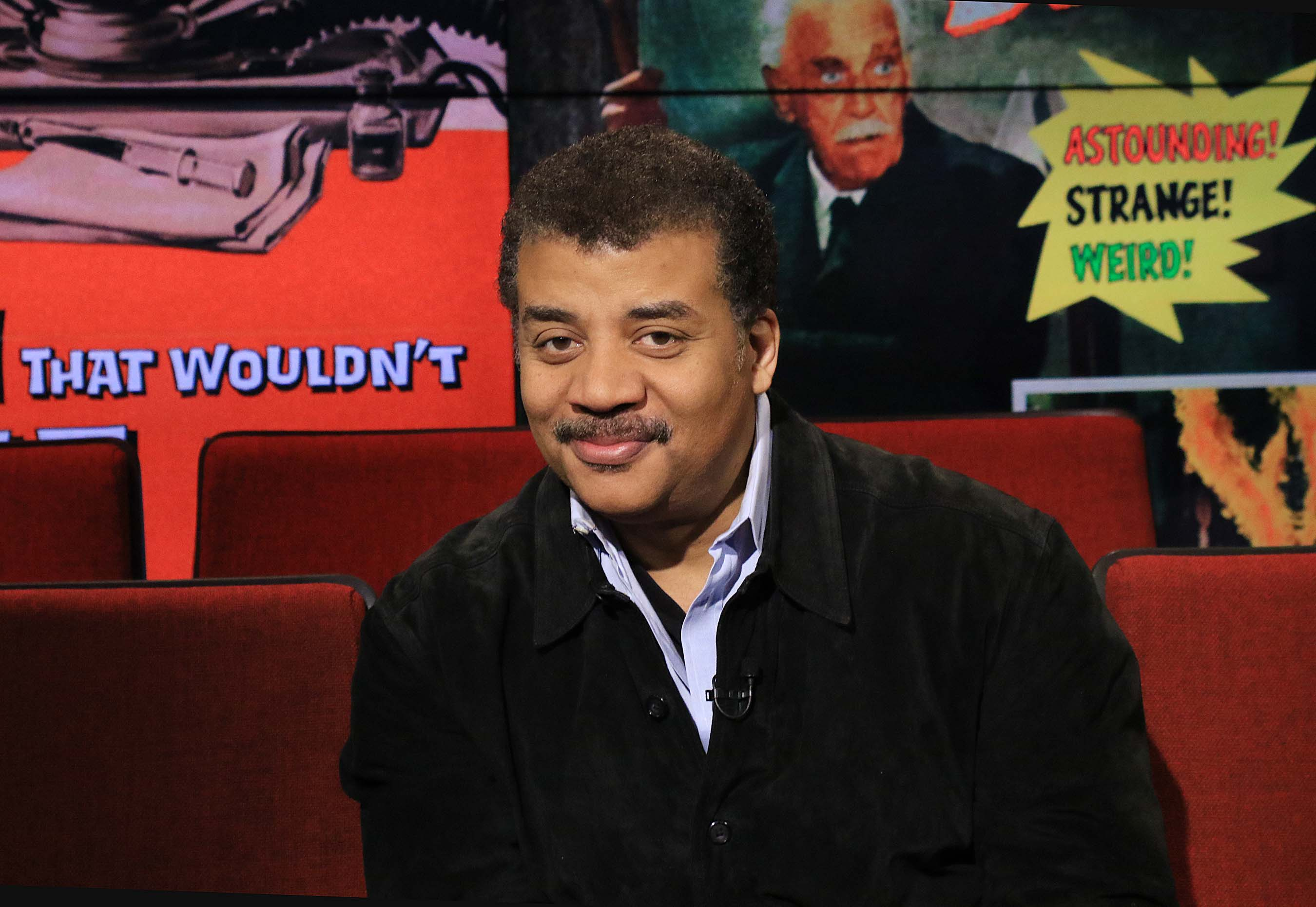 "Astrophysicist Neil deGrasse Tyson, in 2-part interview, looks at Hollywood scientists – from 1954's ""Them!"" to ""The Lazarus Effect"" and ""Kingsman: The Secret Service."""