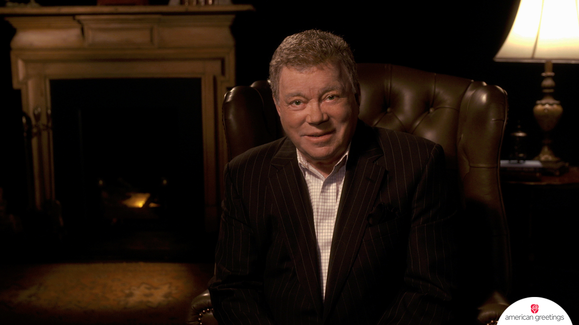 When you can't find the words to express your appreciation, let William Shatner do the shouting.