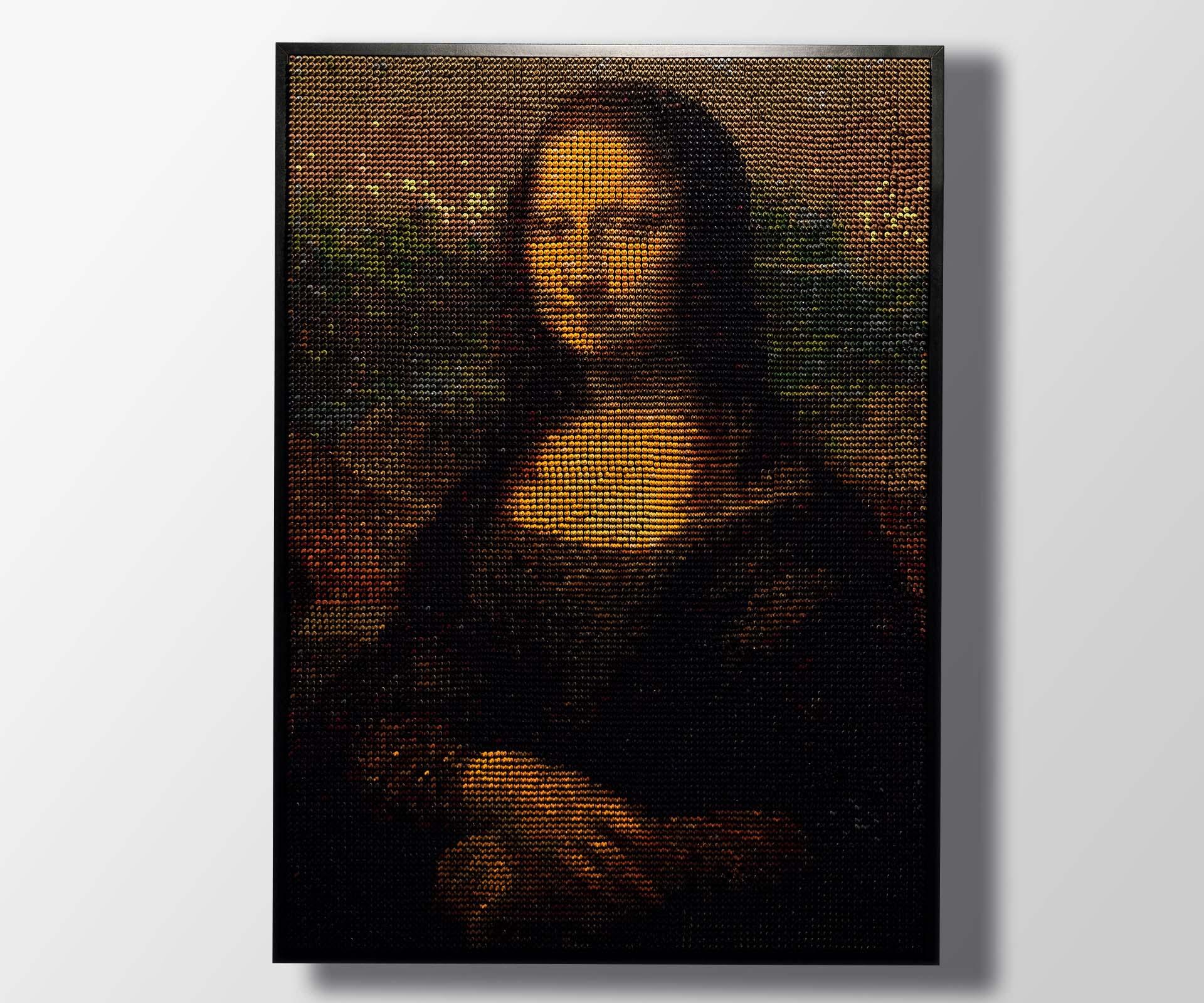 Color.Works reimagines Mona Lisa