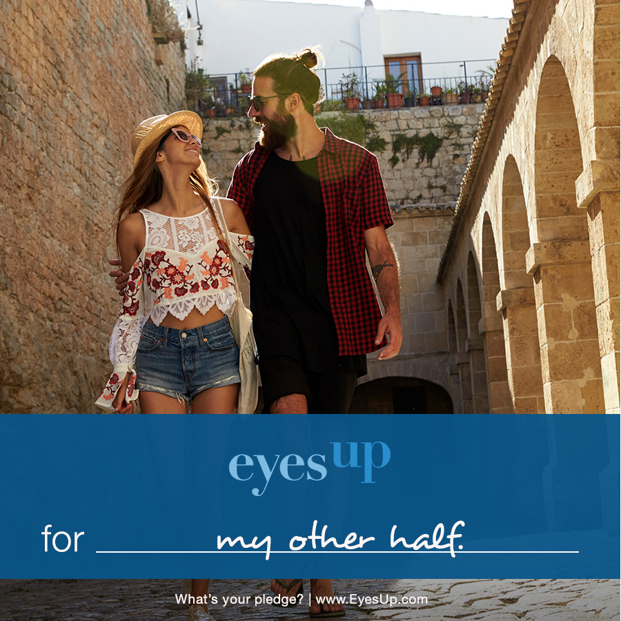What are you going EyesUp for? Take the Murad pledge to go EyesUp for someone or something today!