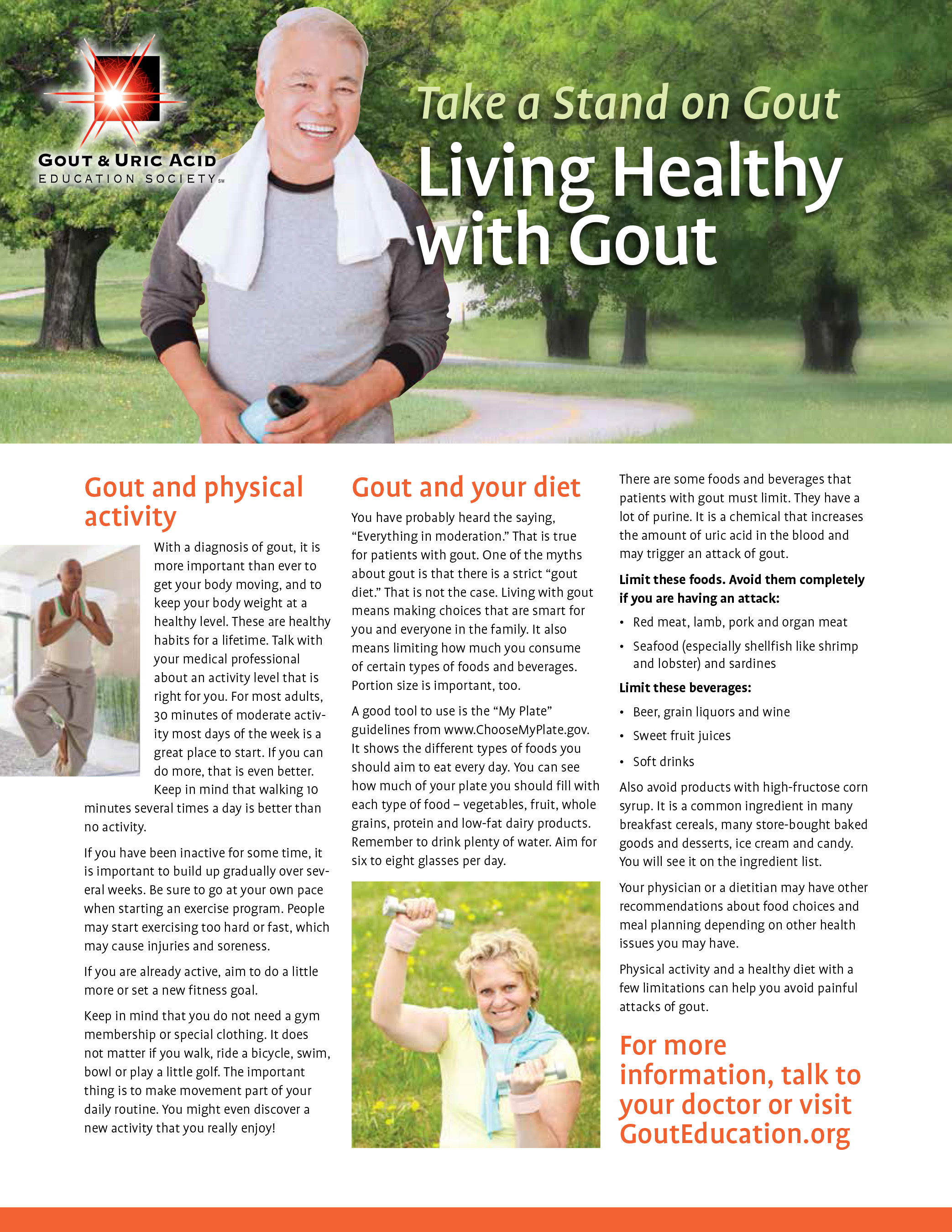 Living Healthy with Gout