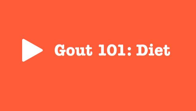 Gout Diet 101