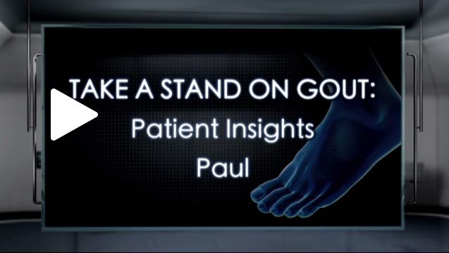Gout Patient Paul