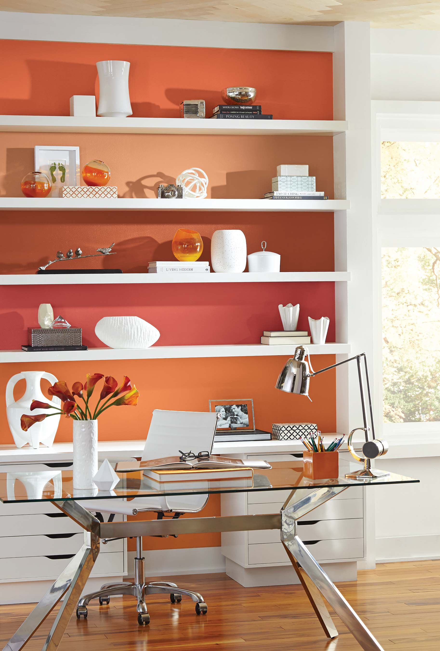 Sherwin-Williams is sharing tips and how-to's to create bold impressions with paint.