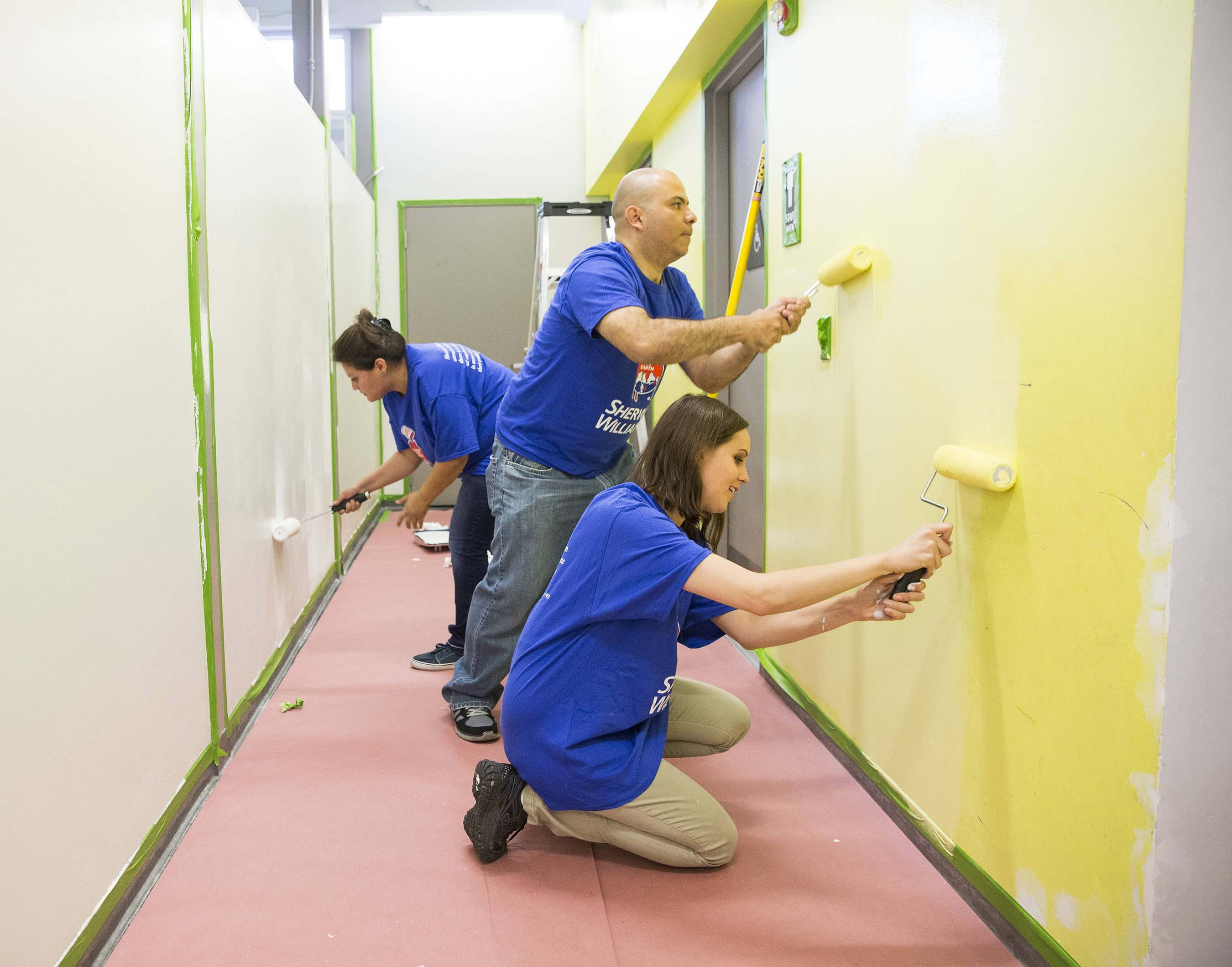 More than 275 deserving community organizations across North America are in for a colorful makeover, courtesy of Sherwin-Williams.