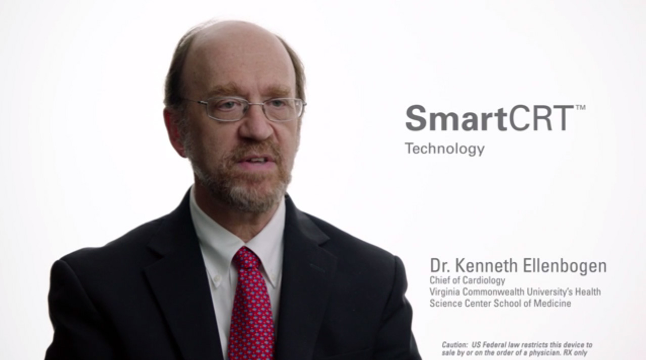 Dr. Kenneth Ellenbogen discusses how SmartCRT™ Technology, coupled with EnduraLife Battery Technology, allows physicians to tailor CRT-D device settings without sacrificing battery life.