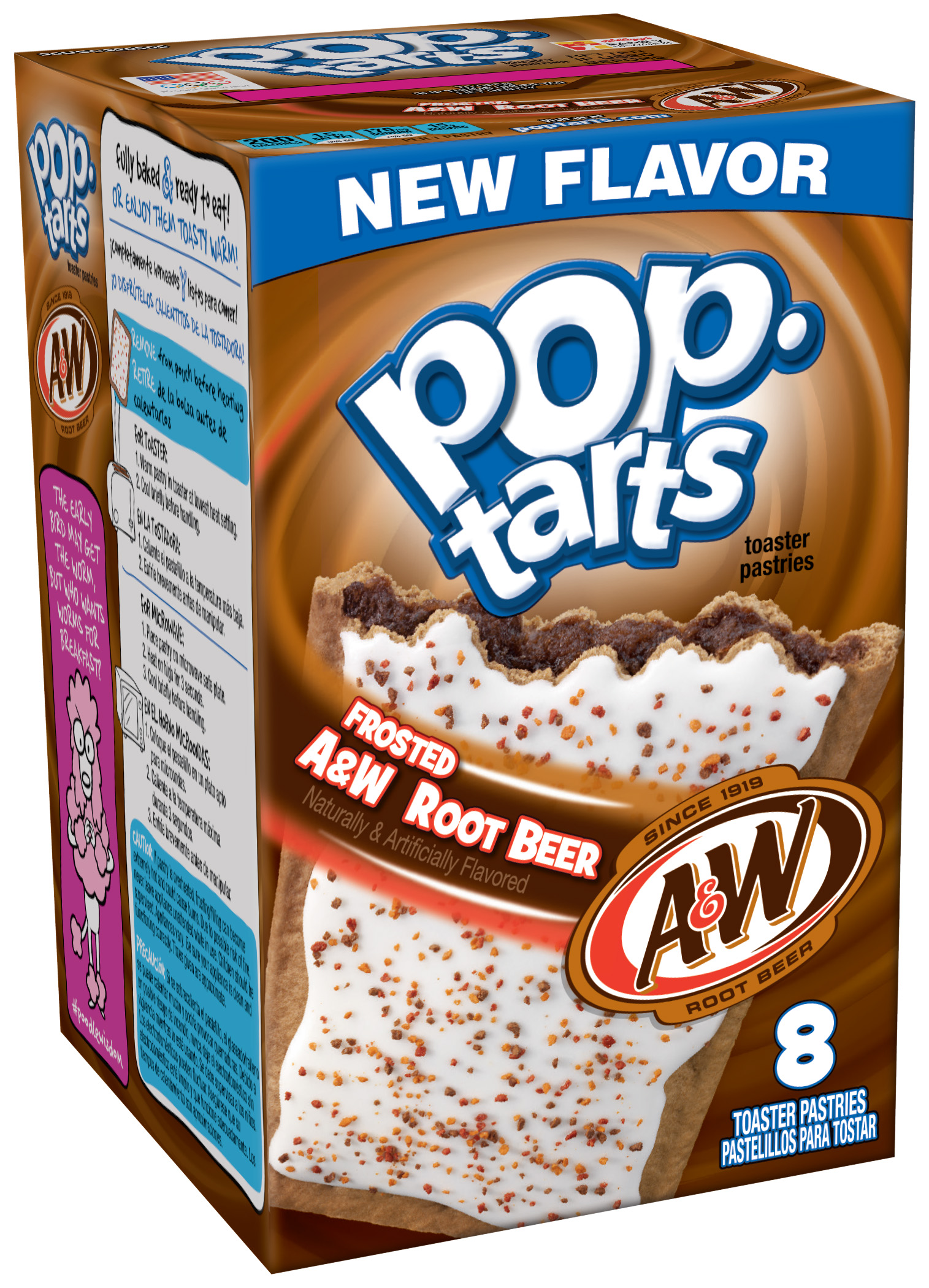 Frosted A&W Root Beer Pop-Tarts