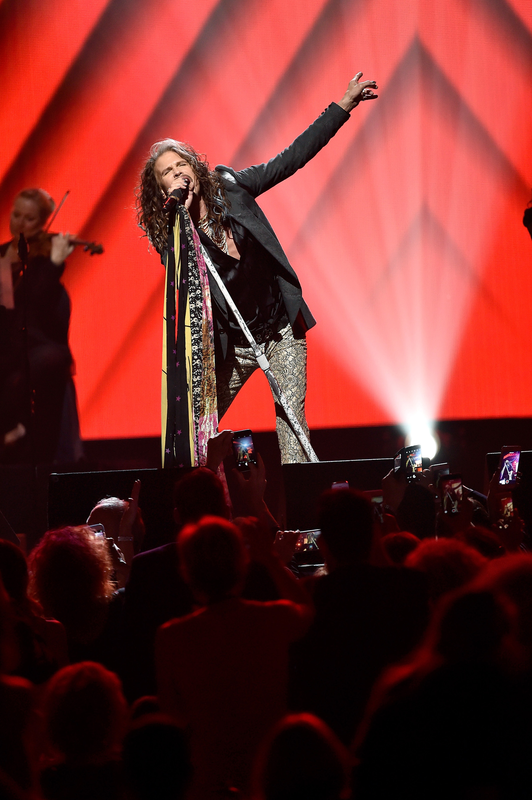 Steven Tyler performs at KMA Gala
