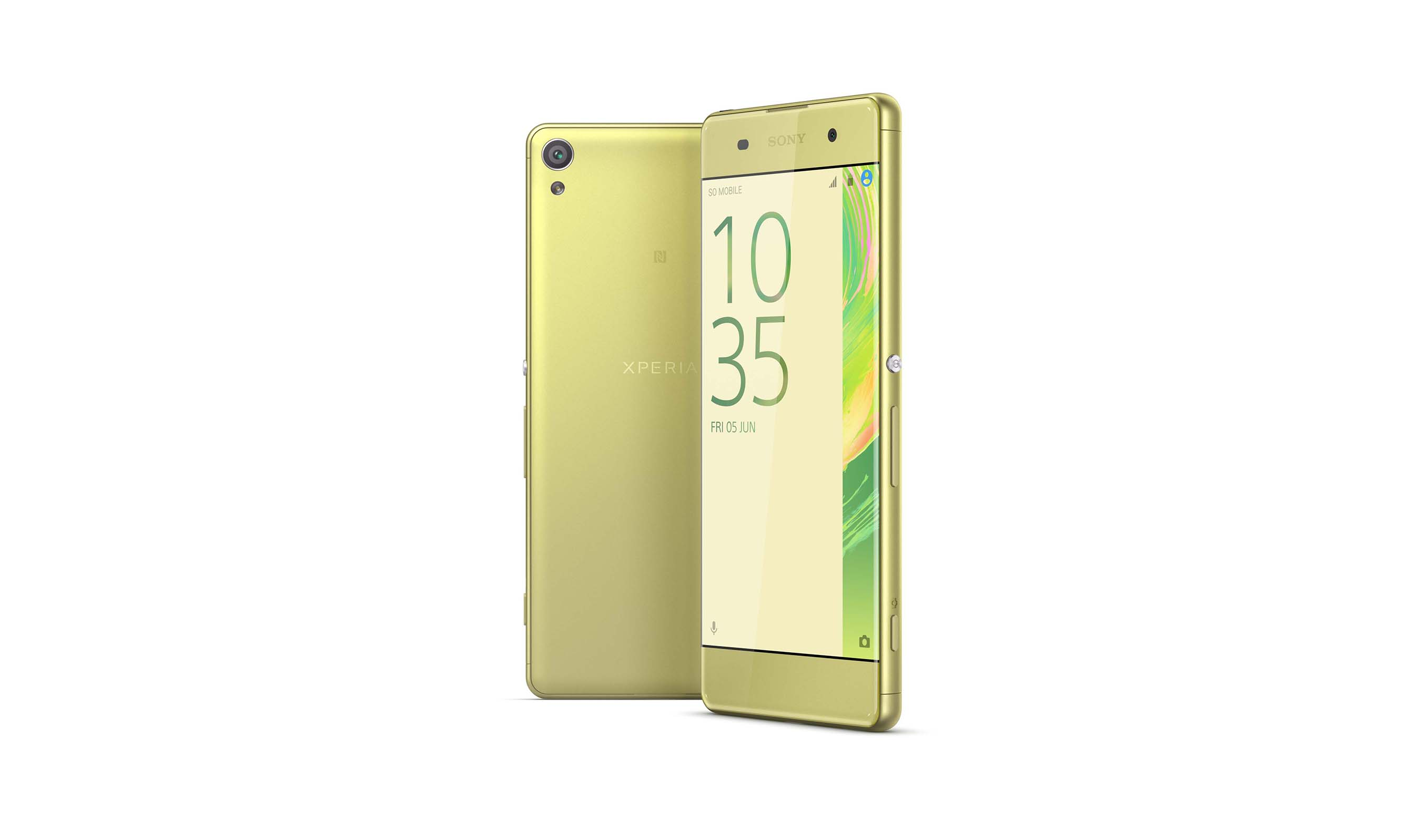 Xperia XA is the perfect fit for those looking for a smartphone with an attractive design that is comfortable to hold and fun to operate.