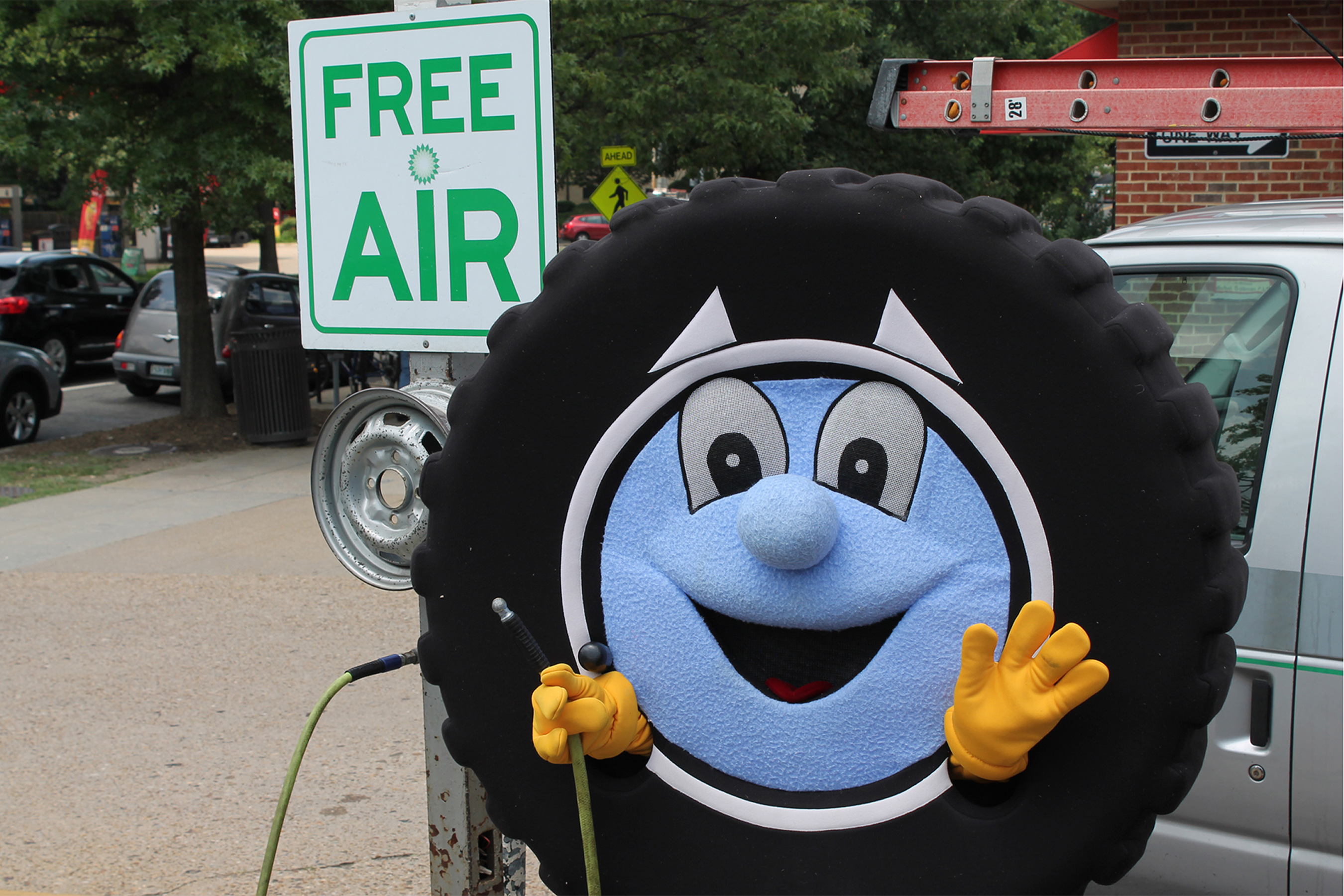 Phillip The Tire wants you to Be Tire Smart for National Tire Safety Week!