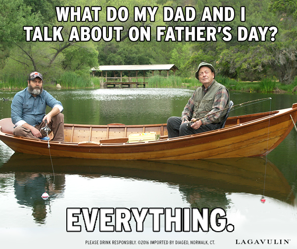 What Do My Dad and I Talk About On Father's Day? Everything.