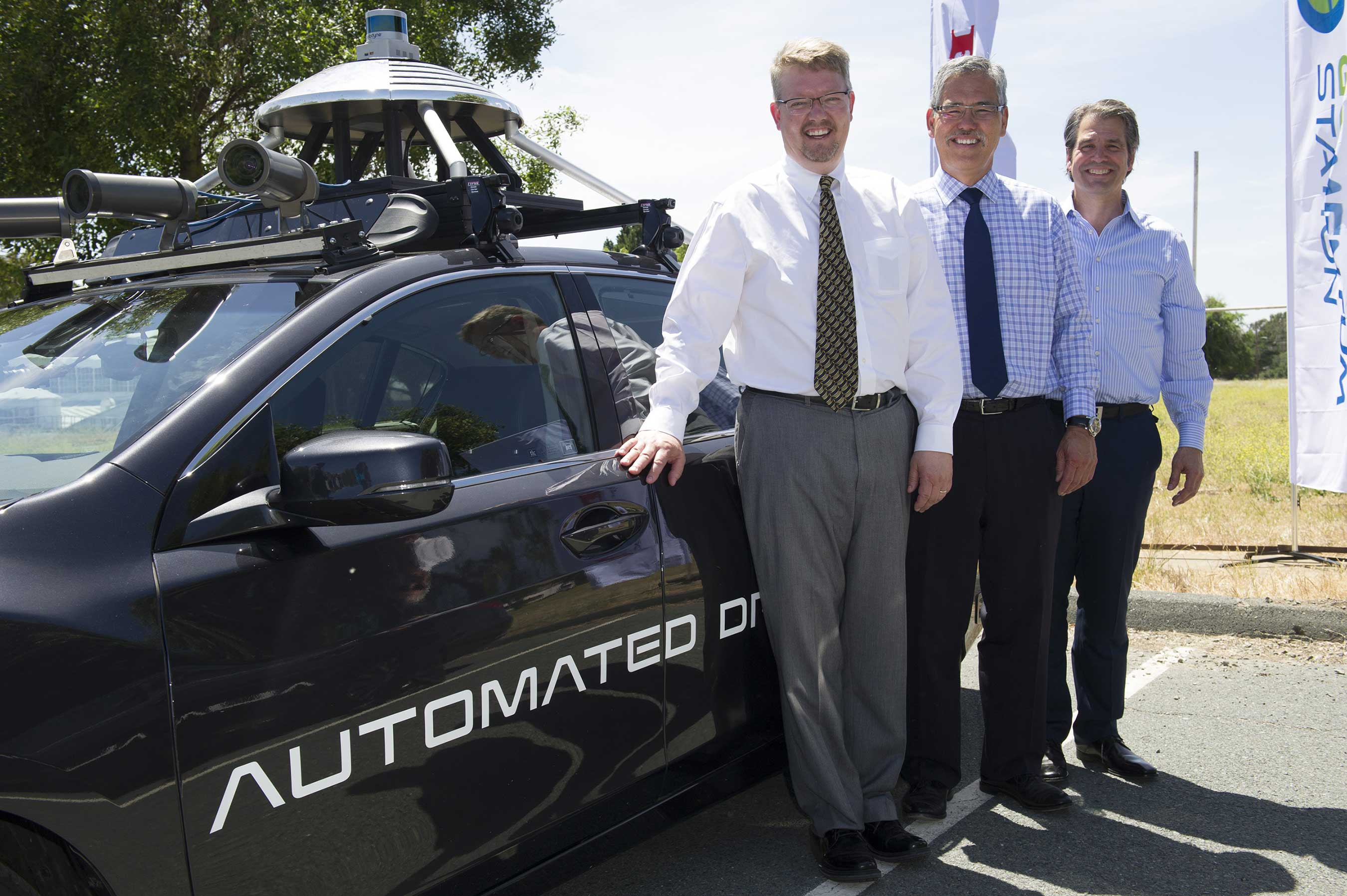 GOMENTUM STATION AND HONDA OFFER DEMO OF AUTONOMOUS VEHICLE TECHNOLOGY